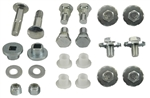 1967 - 1969 Camaro Convertible Top Bolts, Bushings and Pivot Set, Frame Mounting Hardware Set