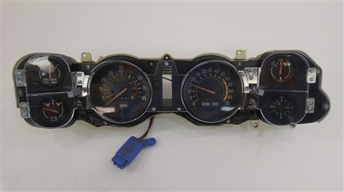 1981 Camaro Dash Instrument Cluster Housing Assembly With