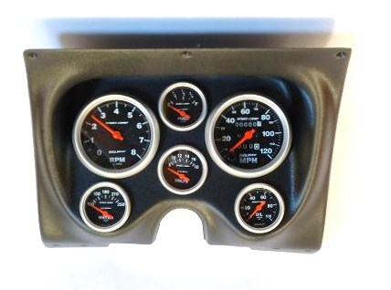 1967 1968 Camaro Dash Instrument Cluster Housing Assembly With Gauges Auto Meter Choice Of