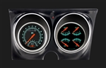 1967-1968 Custom Dash Gauge Set with OE Style Housing - G / Stock