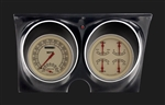 1967 - 1968 Dash Instrument Cluster Housing with Gauges (Vintage), Custom OE Style