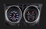 1967 - 1968 Dash Instrument Cluster Housing with Gauges (Velocity Black), Custom OE Style