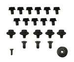 1967 Door Bolts Hardware Set, Inner