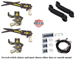 1968 - 1969 Camaro Power Window Kit, Premium Quality USA Made, Front and Rear Power Window Set
