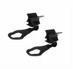 1967 - 1981 Door Opening Rod End Clips, Pair