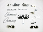 1968 Emblems Set for Super Sport 396 with Rally Sport Grille