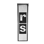 "1967-1968 Rally Sport "" RS "" Grille Emblem - USA Made"