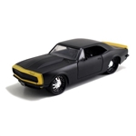 1967 CHEVROLET CAMARO 1/24 BIGTIME MUSCLE MATTE BLACK MODEL