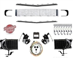 1967 - 1968 Camaro Rally Sport Grille Conversion Kit with DSE Electric Motors, 122002