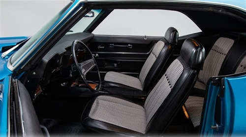 1969 camaro houndstooth deluxe interior kit coupe stage 3 for 69 camaro complete interior kit
