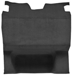 1982 - 1992 Camaro Trunk Hatch Cargo Area Carpet, Molded, Cutpile