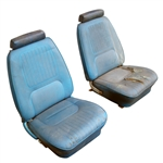 1970 Camaro Front Bucket Seat Assemblies, Used Original GM