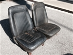 1967 - 1968 Camaro Front Bucket Seat Assemblies, Original GM Used