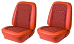 1969 Camaro Deluxe Houndstooth Pre-Assembled Front Bucket Seat Set