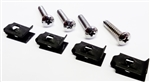 1974 - 1977 Camaro Park Light Lens and Reflector Mounting Hardware Set