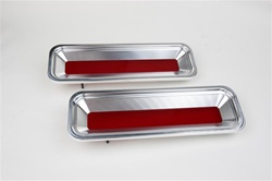 1967 Billet Aluminum Tail Lights and Bezels Kit