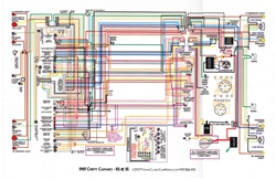 ... full color laminated wiring diagrams for chevrolet cars trucks