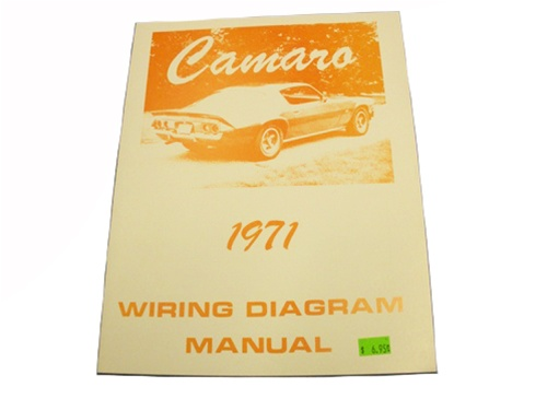 1971    Camaro       Wiring       Diagram       Manual