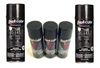 Quanta Correct Chassis Spray Paint Set for Under Hood, 5 Cans