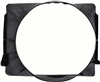 1967 - 1968 Camaro Radiator Fan Shroud, Small Block with Air Conditioning, 23 Inch, Premier