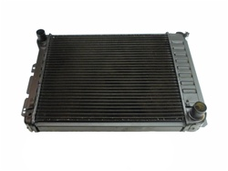 1967 - 1969 4 Core Row Camaro w/ Factory AC Small Block OE Style Radiator for Automatic, 23 Inch