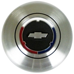 1967 - 1969 Camaro Horn Cap with Bowtie Emblem for Wood or Comfort Grip Steering Wheel, USA MADE