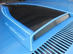1980 - 1981 Hood Scoop Stripe & Air Induction Name Decals