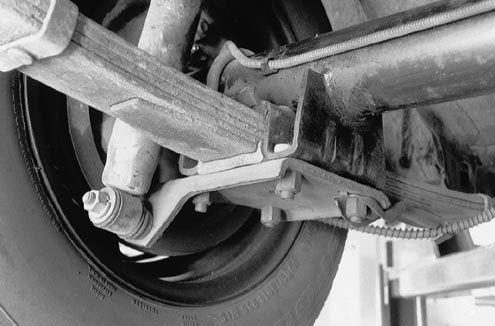 1967 1969 Camaro Rear End Axle Spring Perch Mount Set