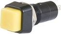 New UNIVERSAL YELLOW Button SPST Switch, Momentary On