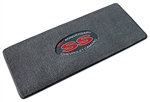 Trunk Deck Welcome Mat - CAMARO SS 35th Anniversary - Ebony w/ Red Lettering