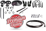 1968 - 1969 Camaro Convertible Rubber Weatherstrip Seal Kit