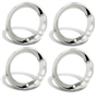 15 x 7 Rally Wheel Trim Rings, Stepped Edge, Set of 4