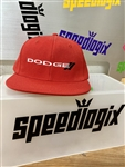 Red Dodge Logo Hat
