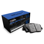 R1 Concepts Semi-Metallic Rear Brake Pads 2005-2017 6.1L/392/6.4L/6.2L Challenger/Charger/300/Magnum