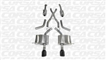 Corsa Sport Cat-back Exhaust (Black Tips) 2011-2016 5.7L Dodge Durango