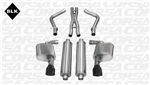 Corsa Sport Catback Exhaust System w/ Black Tips 2012-2014 392/6.4L Charger/300