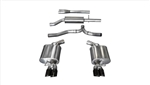 Corsa Sport Exhaust Catback w/ Black Tips 2011-2014 3.6L Charger
