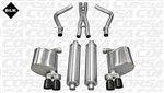 Corsa Xtreme Catback Exhaust System w/ Black Tips 2011-2014 5.7L Charger