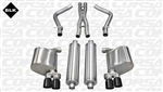 Corsa Sport Catback Exhaust System 2011-2014 5.7L Charger