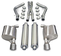 Corsa Xtreme Catback Exhaust System 2011-2014 5.7L 300