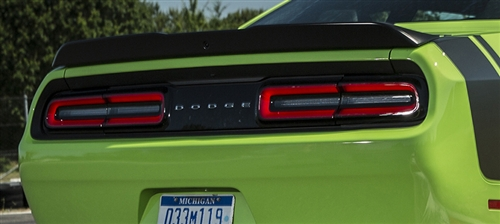 Mopar Oem Scat Pack Rear Spoiler W Back Up Camera