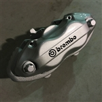 Brembo OEM Grey Left Front 4 Piston Brake Caliper 2005-2014 Challenger/Charger/300/Magnum SRT