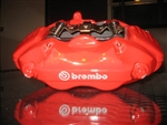 Brembo OEM Left Rear Brake Caliper 2005-2018 6.1L/392/6.4L/6.2L Challenger/Charger/300/Magnum