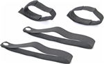 Mopar Rear Window Roll Up Strap Kit 2007-2018 Wrangler JK