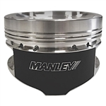 Manley Chrysler 6.2L Hemi Platinum Pistons Stock Stroke 4.095in Bore -6.5cc Dish 3.579in Stroke