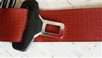 Mopar OEM Red Rear (Driver or Passenger Side) Seatbelt 2015-2018 6.2L Challenger Hellcat