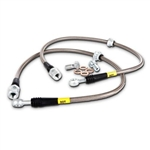 StopTech Braided Front Brake Line Kit 05-18 Challenger, Charger, 300, Magnum SRT 6.1, 6.4/392, 6.2L