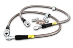 StopTech Stainless Rear Brake Line Kit 05-16 Charger, Challenger, Magnum, 300 5.7L