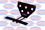 Sto-N-Sho No Drill License Plate Mounting Bracket 2015-2018 6.2L Challenger SRT Hellcat