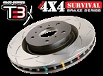 DBA T3 4000 Survival Series Rear Rotors 12-15 Grand Cherokee SRT8